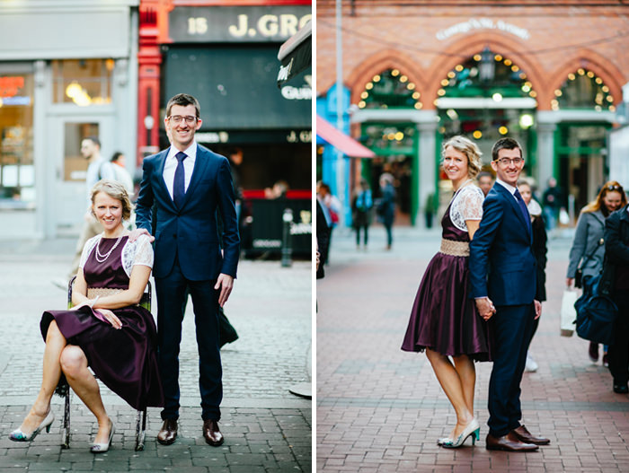 married on main street in dublin city