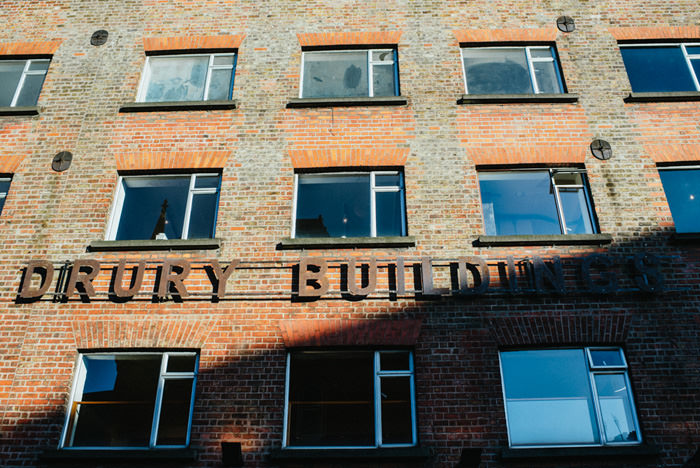 front of drury building restaurant in dublin