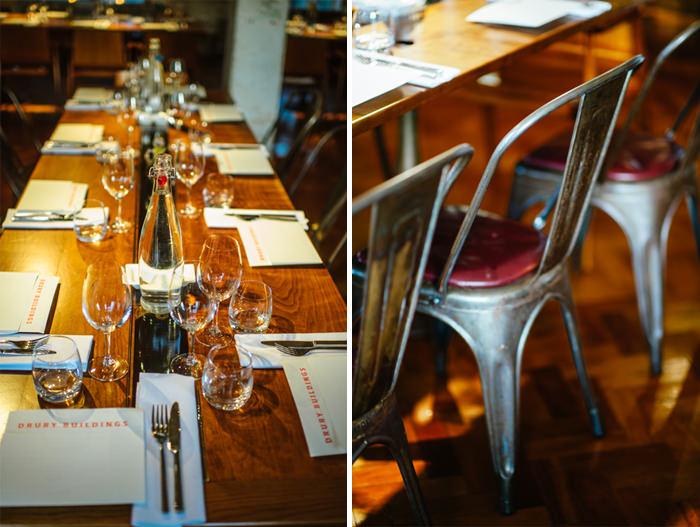 Dublin restaurant wedding