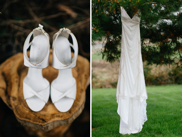 wedding dress,shoes
