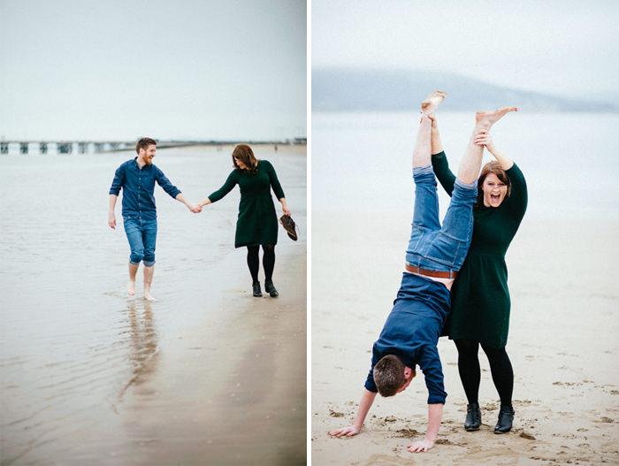 Engagement photos on beach 04