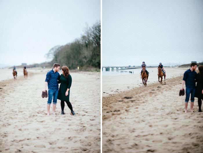 Engagement photos on beach 05