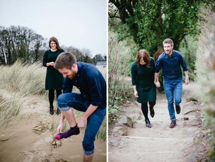 Engagement photos on beach 07