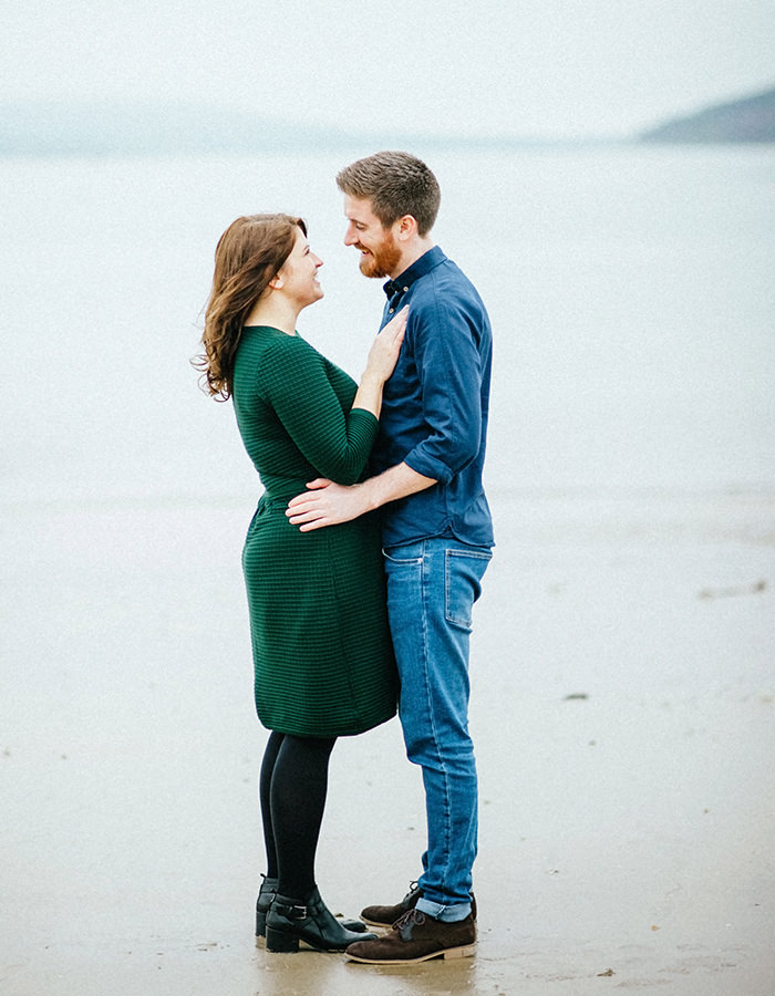 Engagement photos on beach 10