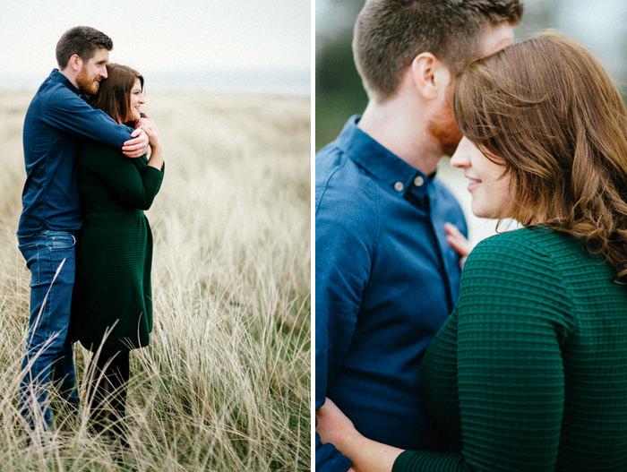 Engagement photos on beach 13