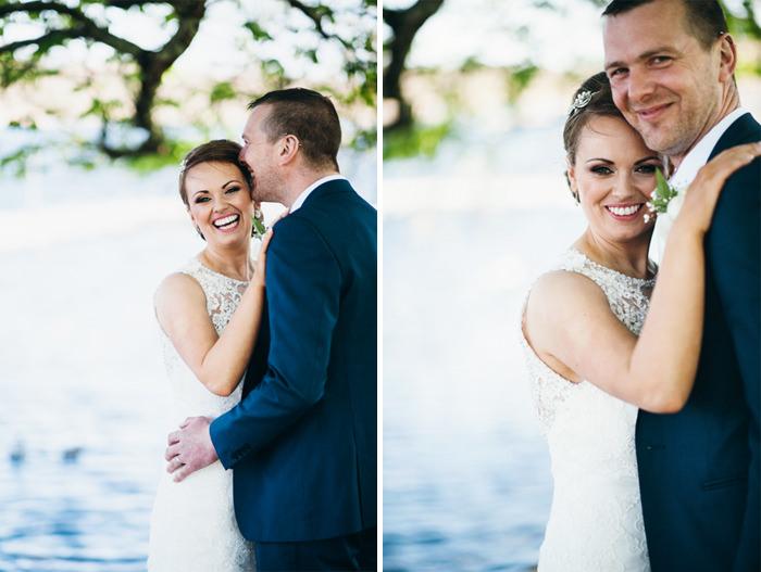bride and groom in doorly park Sligo
