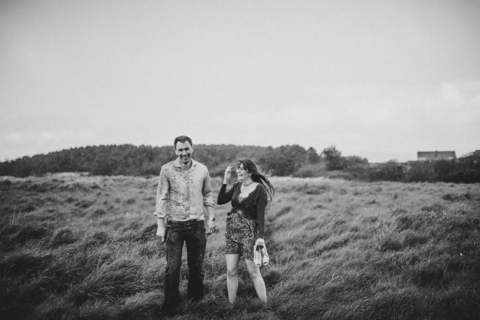 north west weather , engagement  on wild atlantic way, sligo , darek novak photography.