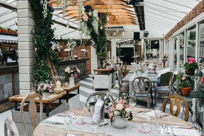 wedding party in house Dublin restaurant