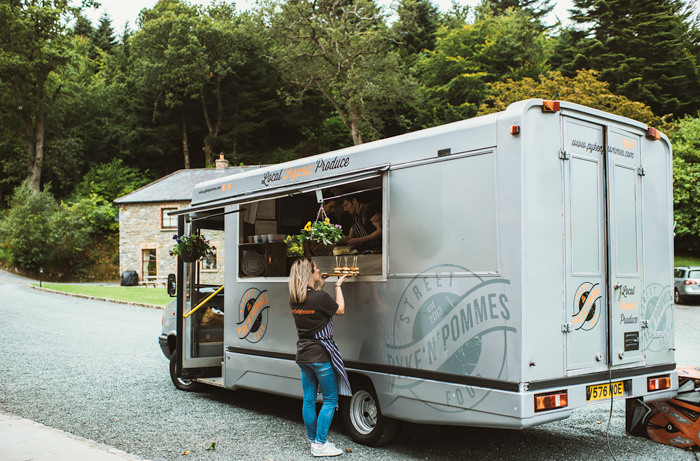 food truck for hire on wedding