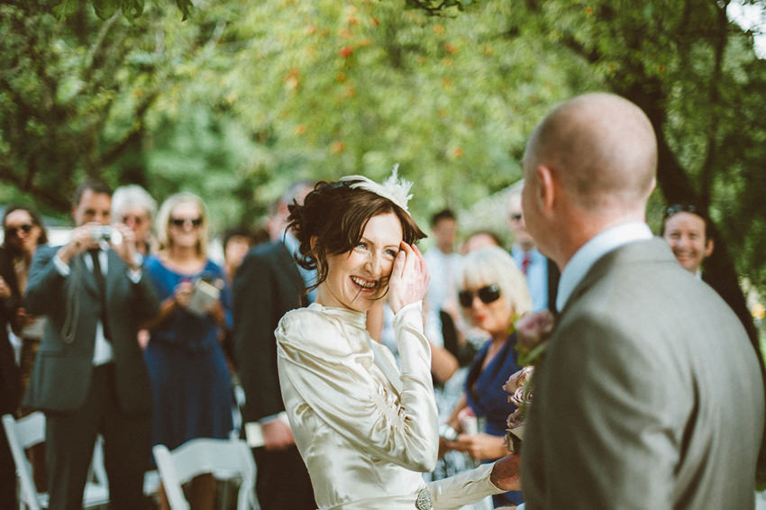 outdoor ceremony at The Millhouse Slane