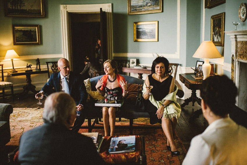Wedding Photographs from Borris House Wedding Venue, Co.Carlow, Ireland