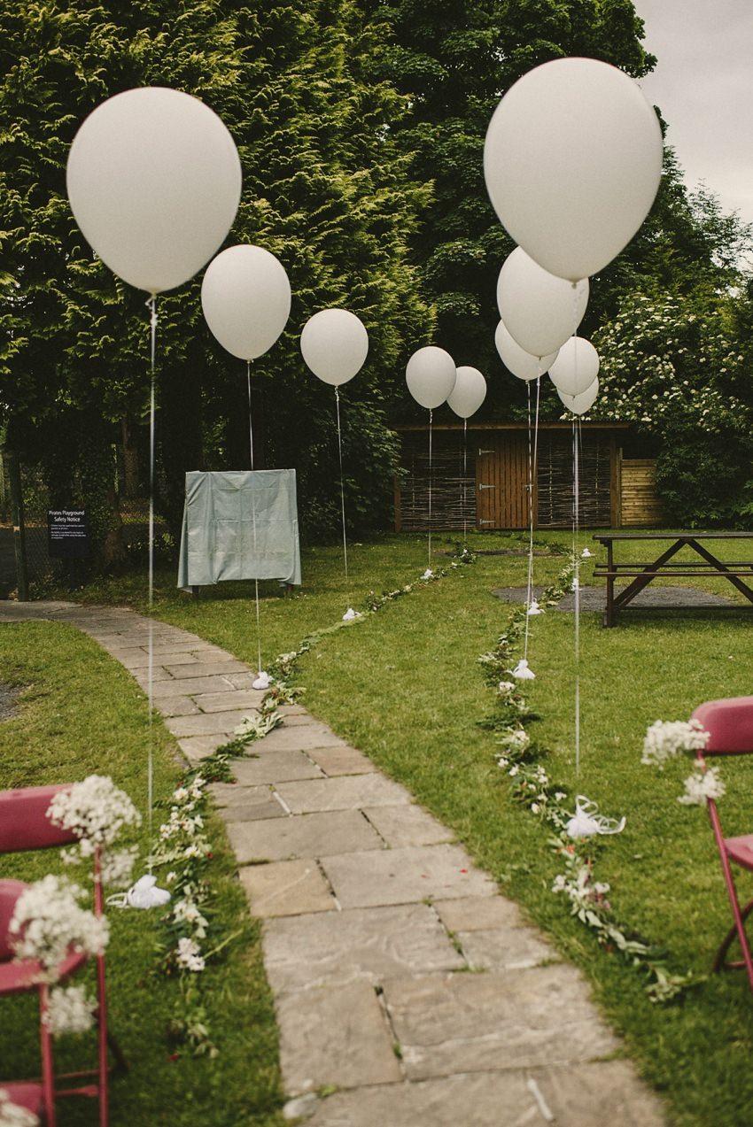 decor at wedding in westport house