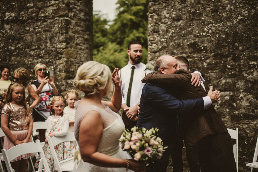 Loughcrew House wedding photos 00050