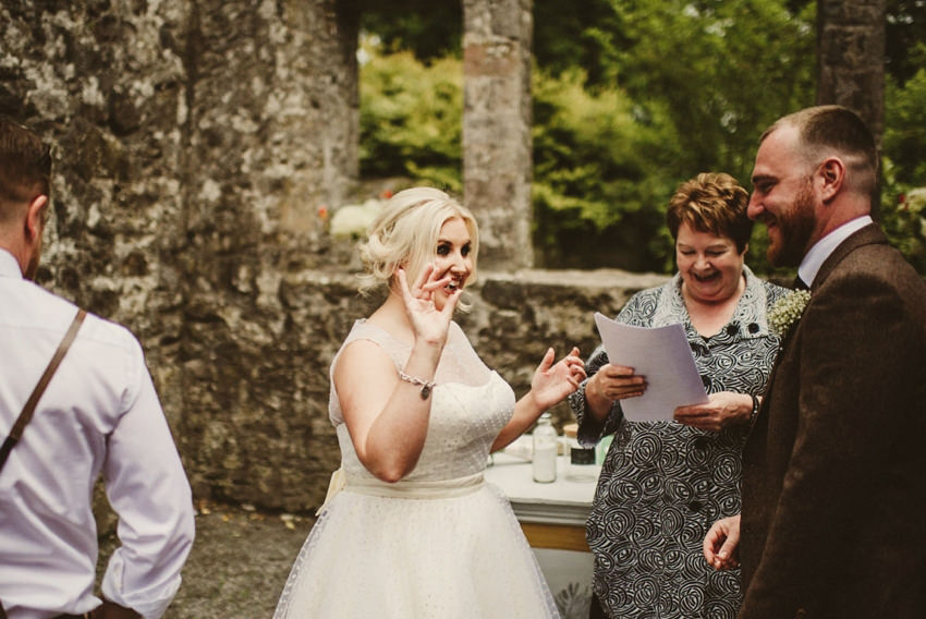 Loughcrew House wedding photos 00055