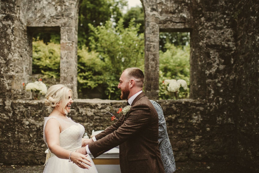 Loughcrew House wedding photos 00057
