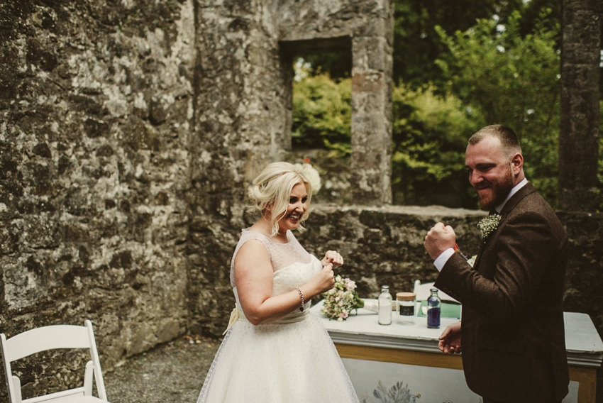 Loughcrew House wedding photos 00058