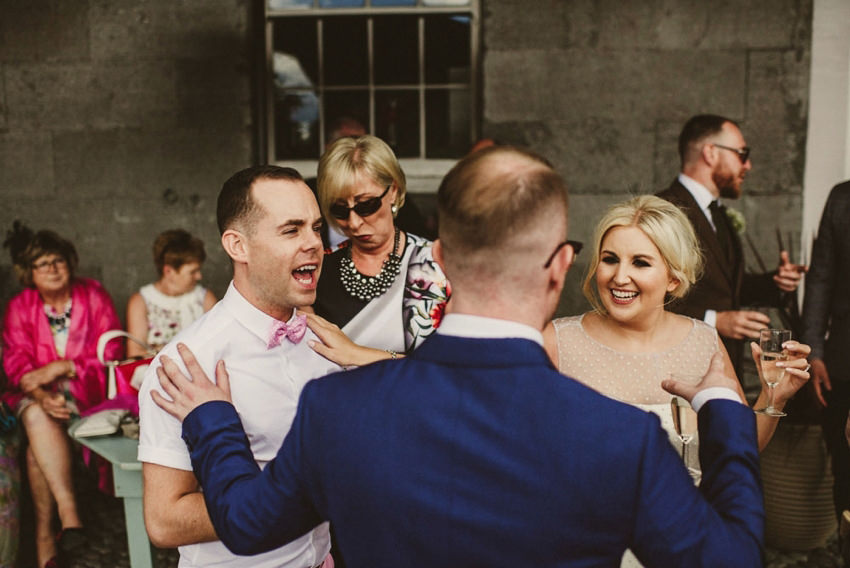 Loughcrew House wedding photos 00075