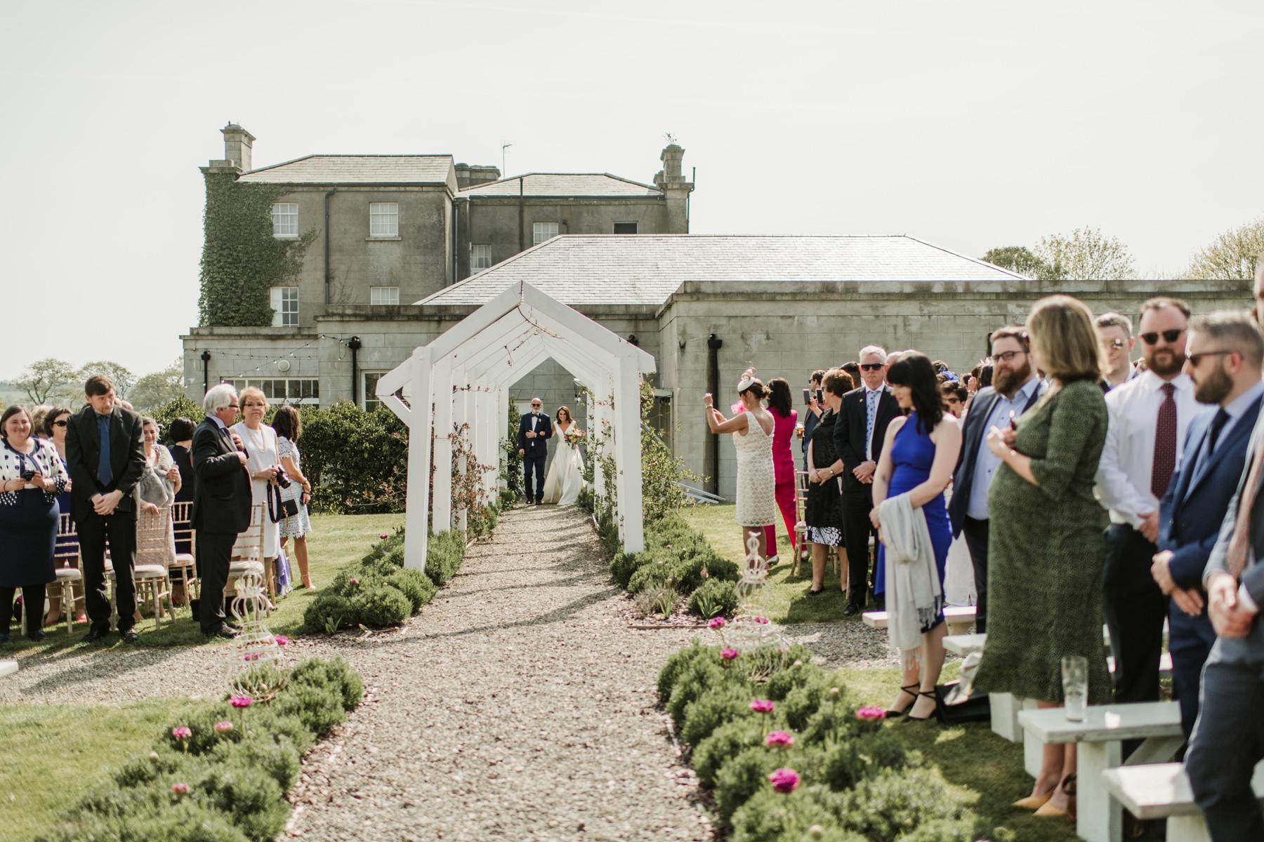 Horetown House Wedding Photographs 0046