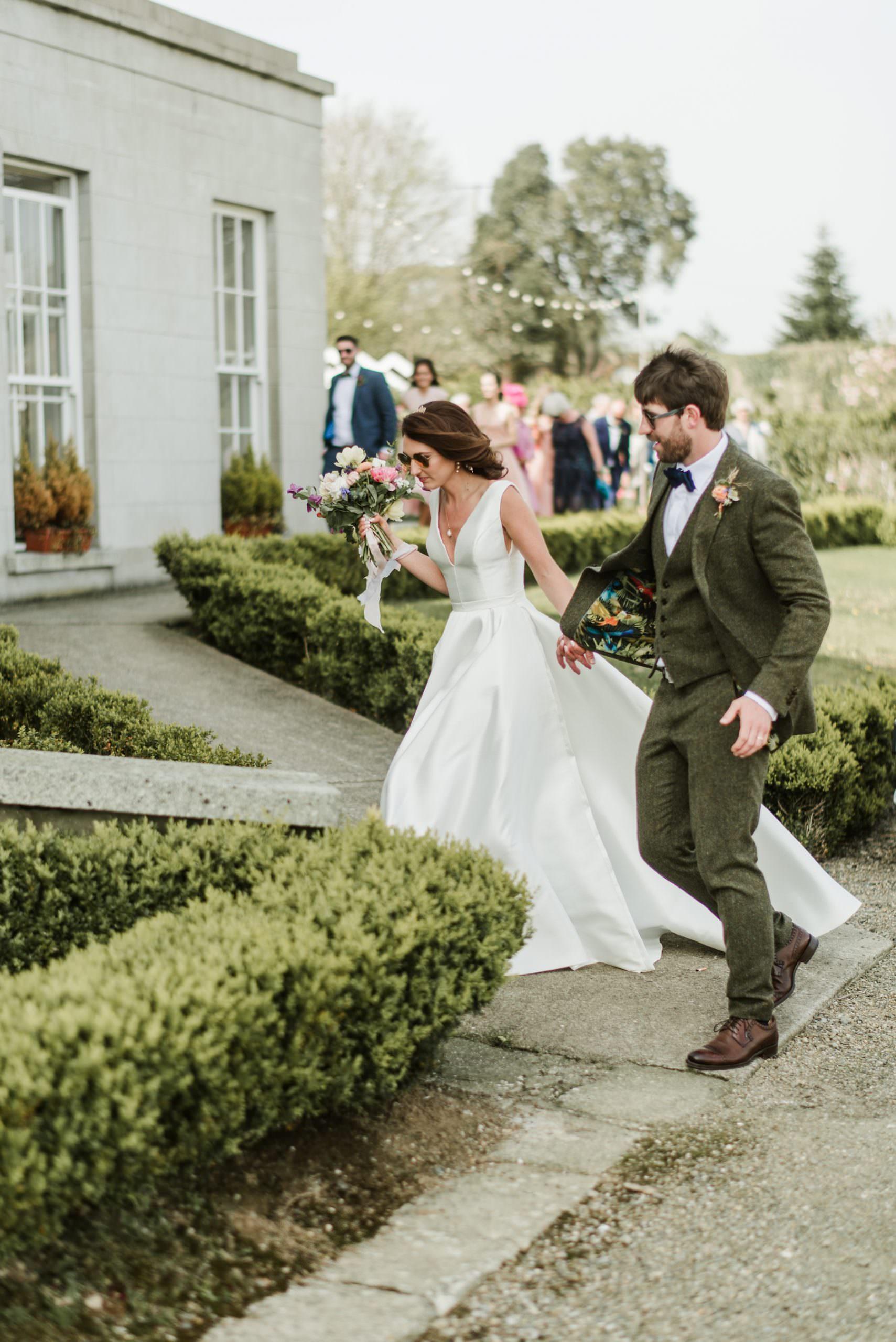 wedding ,horetown house, iconic venue