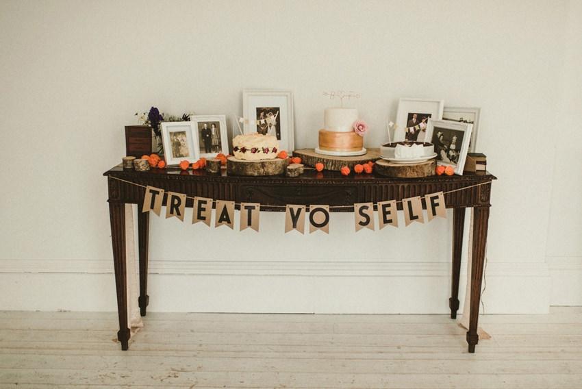 horetown house wedding sweet table