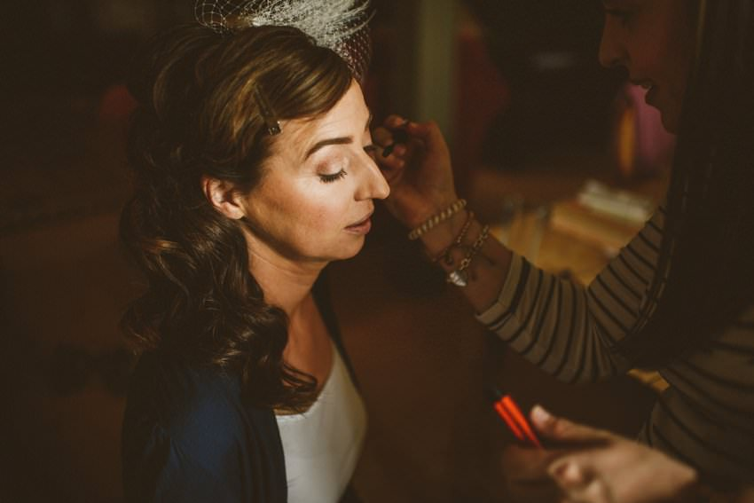 doing wedding makeup in ireland
