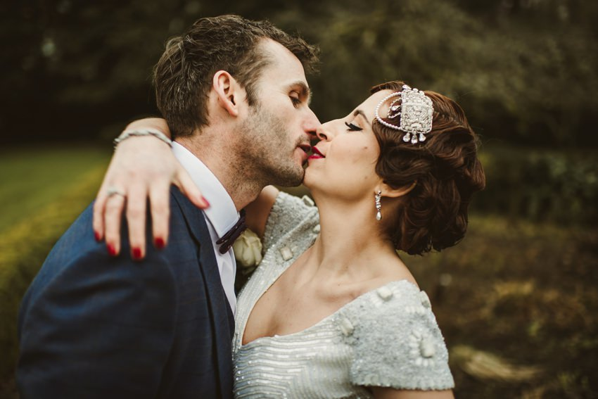 alternative photographs of bride and groom