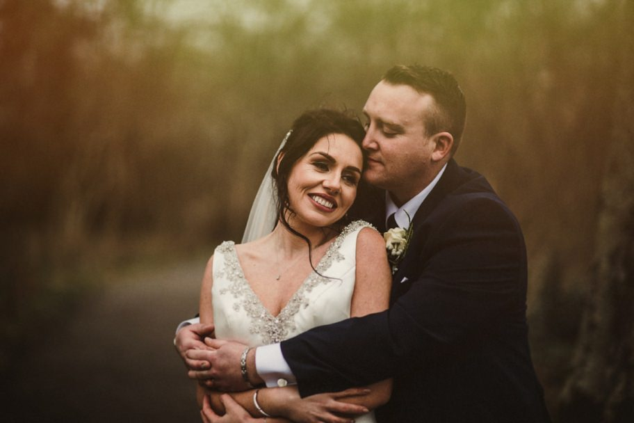 Stacy and her husband photographed at Doorly park in Sligo