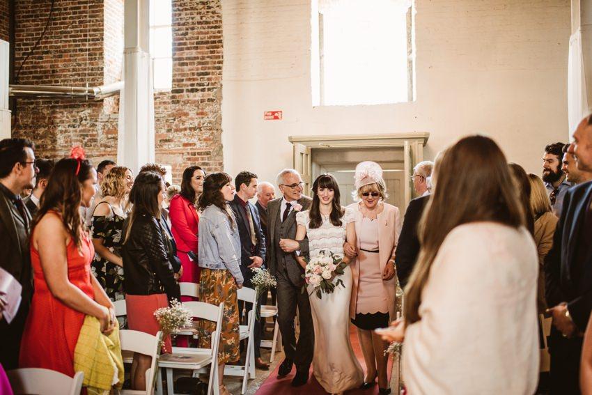 Wedding ceremony The Millhouse 00043