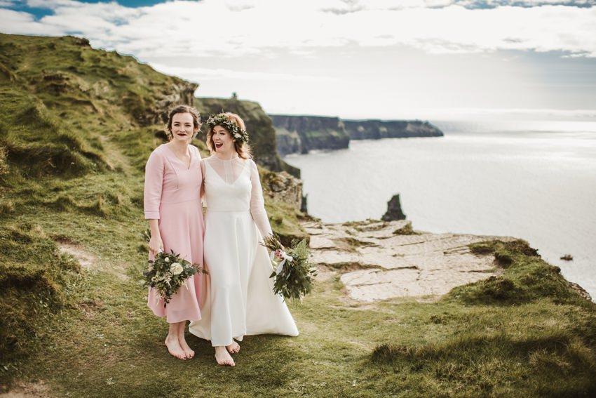 Cliffs of Moher Wedding 0067