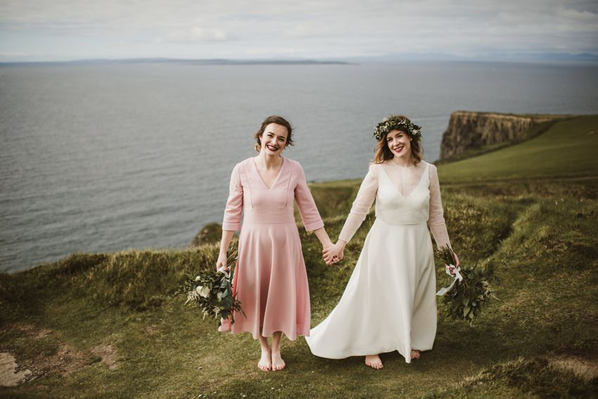 Cliffs of Moher Wedding 0068