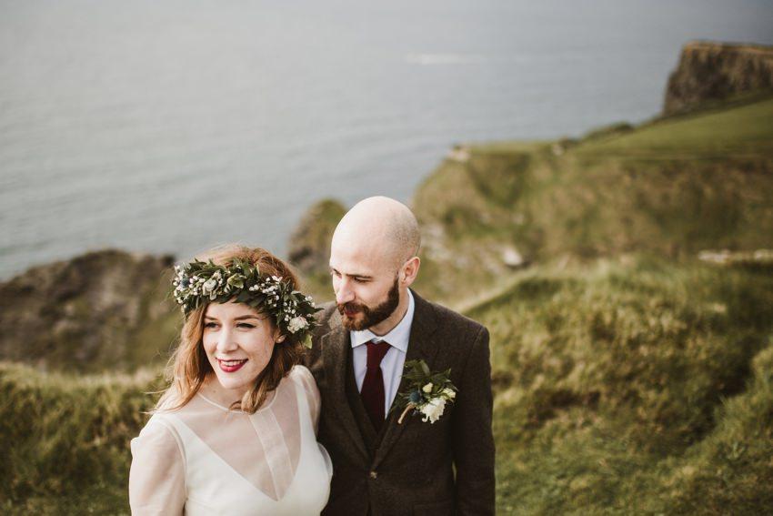 Cliffs of Moher Wedding 0069