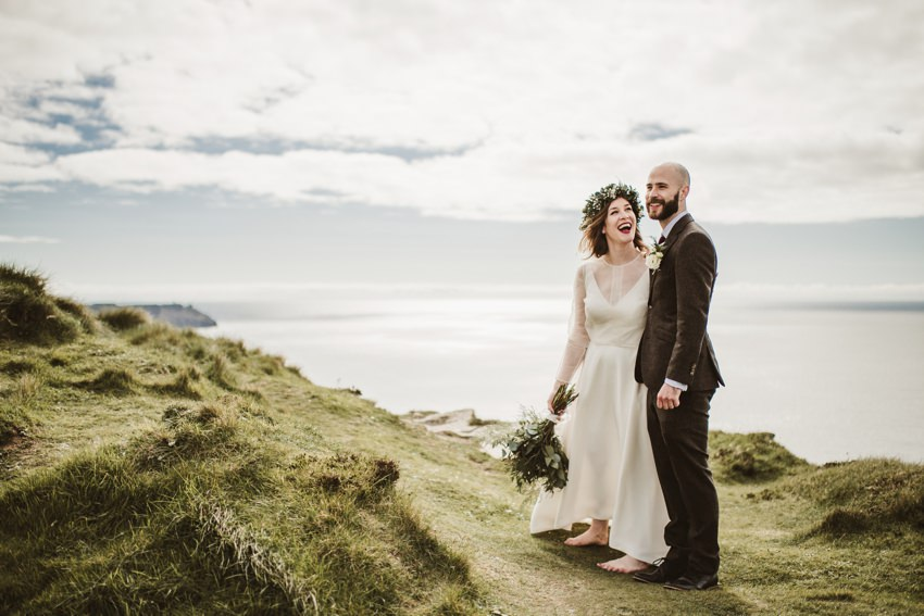 Great Wedding Day At Cliffs Of Moher Wedding