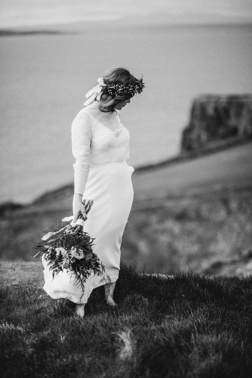 bride at cliffs artistic vision of women i wild environmental