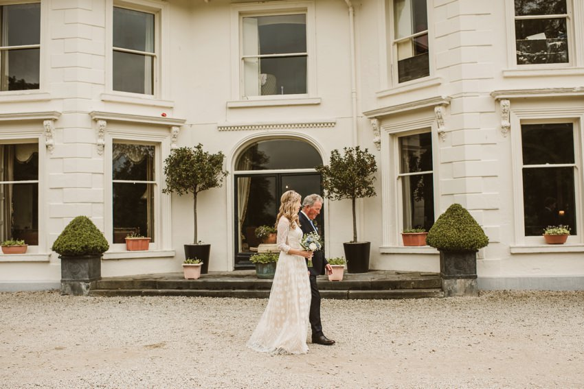 Rathmullan house outdoor wedding 0010