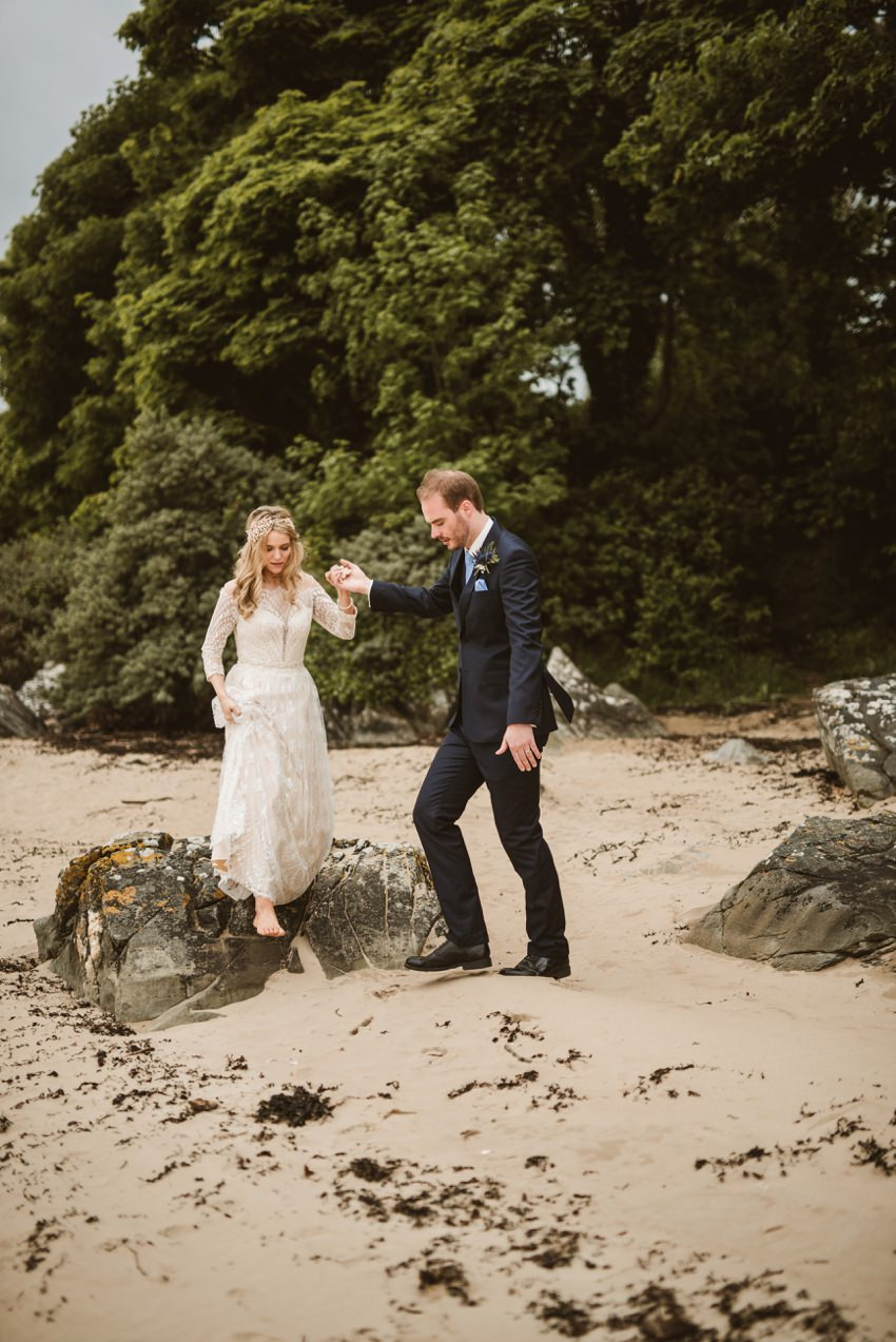 Rathmullan house outdoor wedding 0046