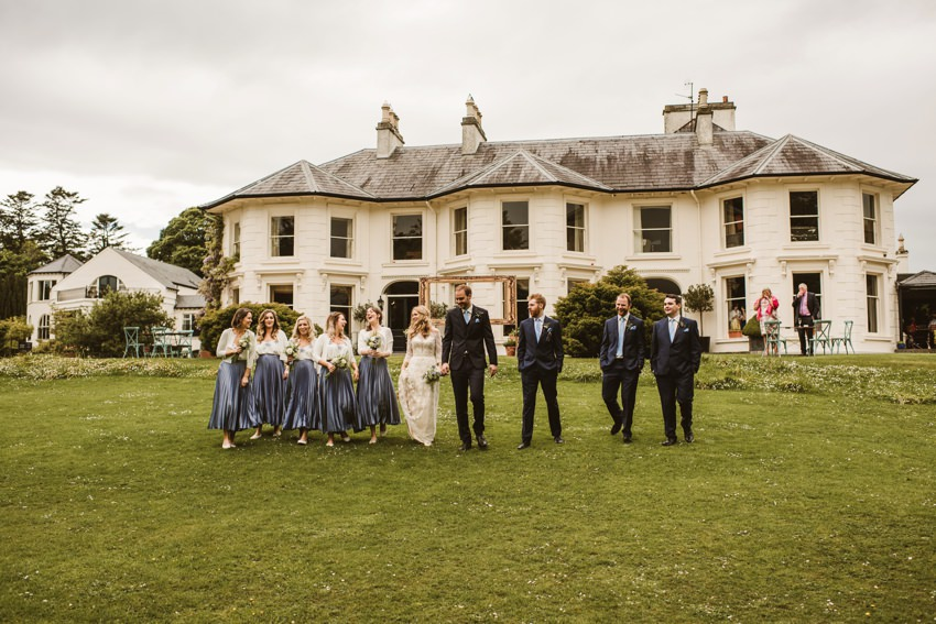 Rathmullan house outdoor wedding 0060