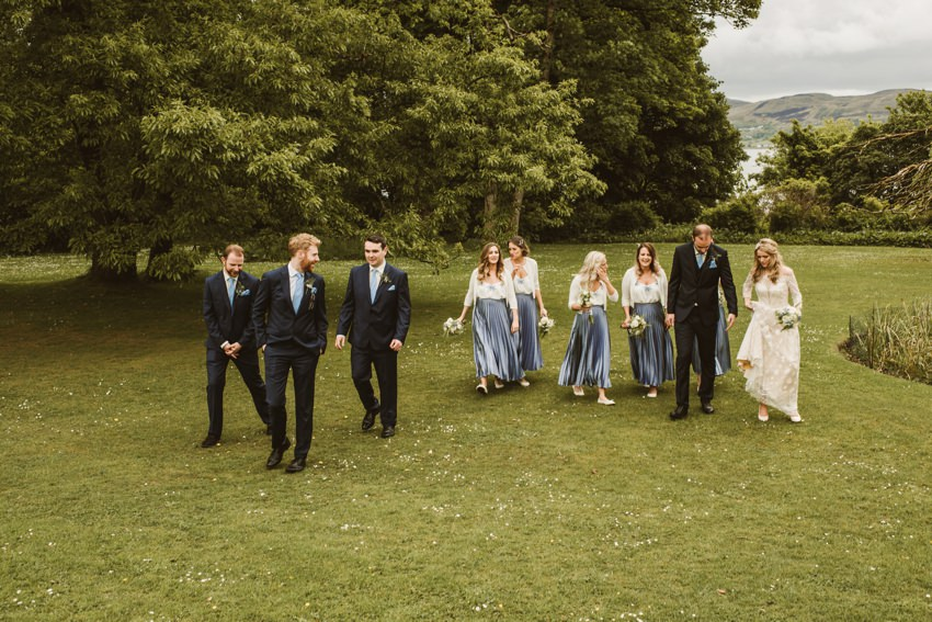 Rathmullan house outdoor wedding 0062