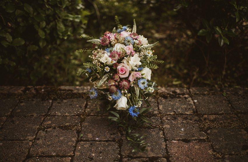 wild wedding flowers for wedding ireland
