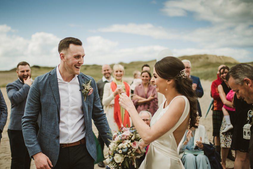 beach wedding Ireland 00020