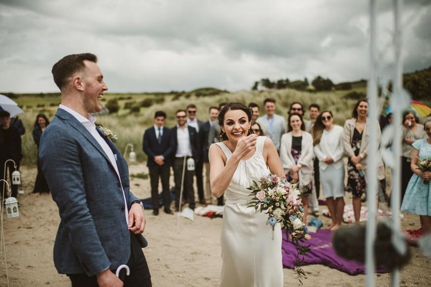 beach wedding Ireland 00022