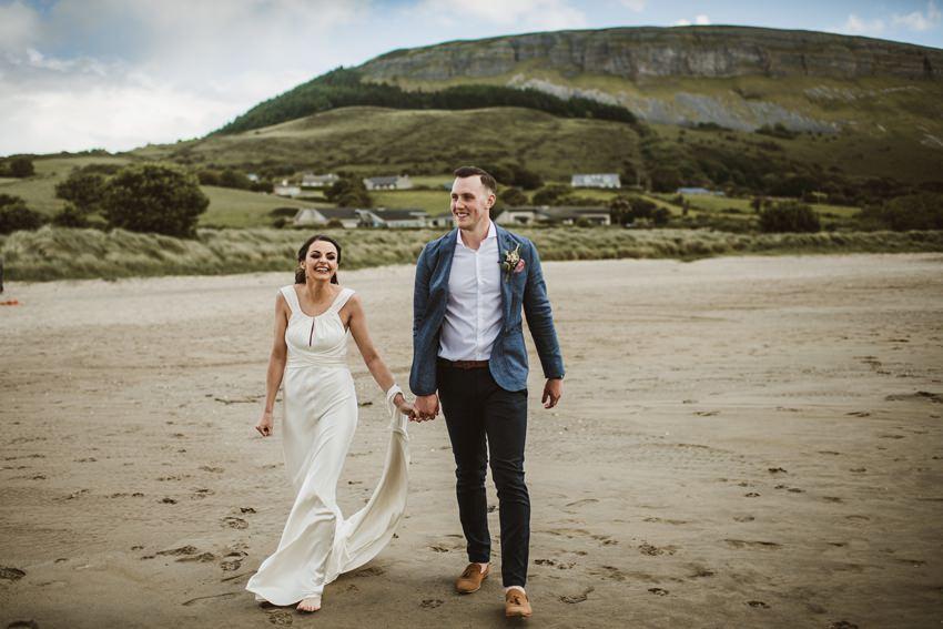 beach wedding Ireland 00030