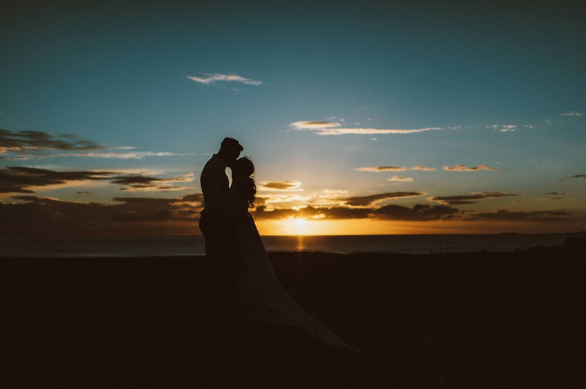 most beautiful 10 wedding photos at sunset in ireland