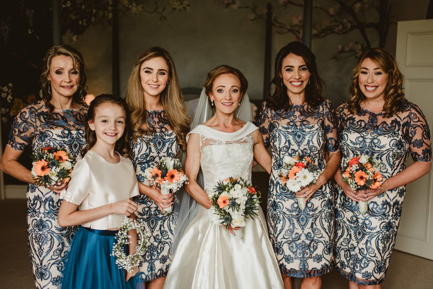 bridesmaid, Irish girls, rustic wedding venue
