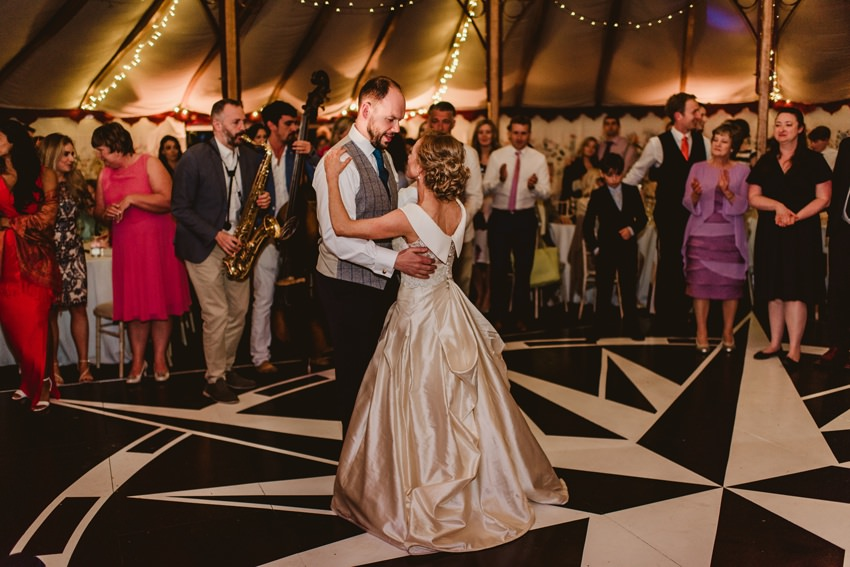 first dance at Ballintubertt