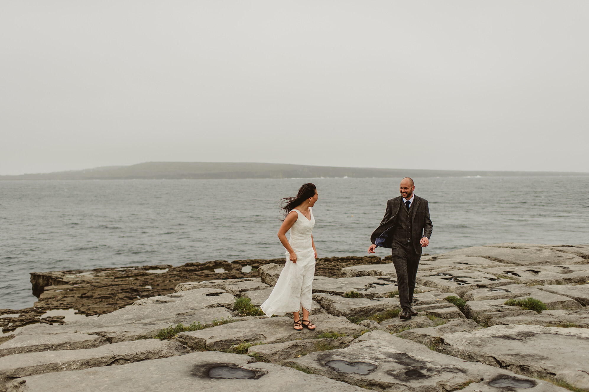Aran Iseland wedding, ireland,atlantic