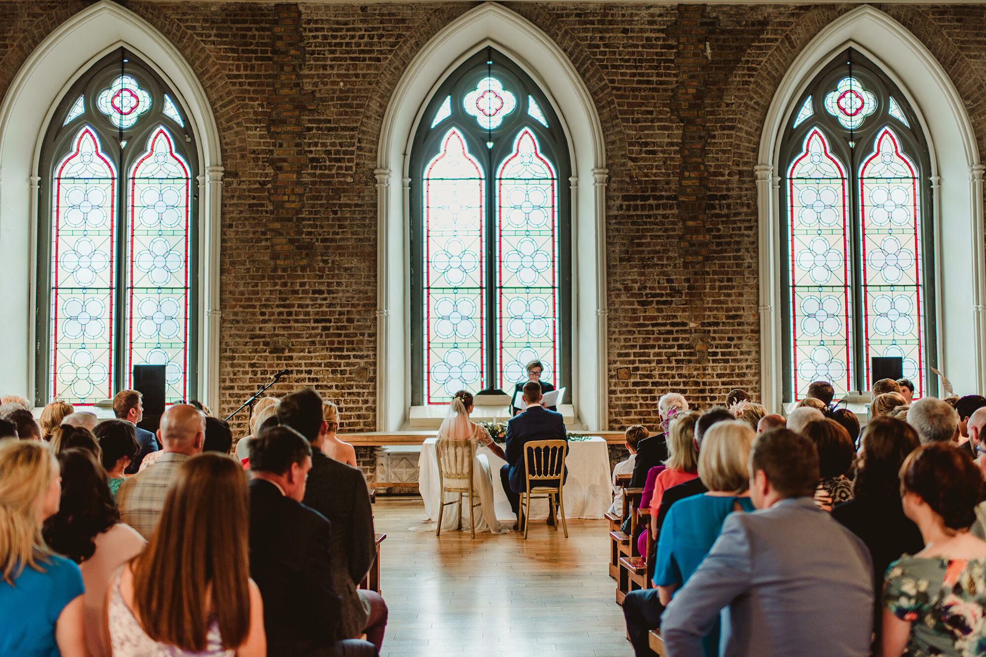 Wedding in Smock Alley Theatre Dublin
