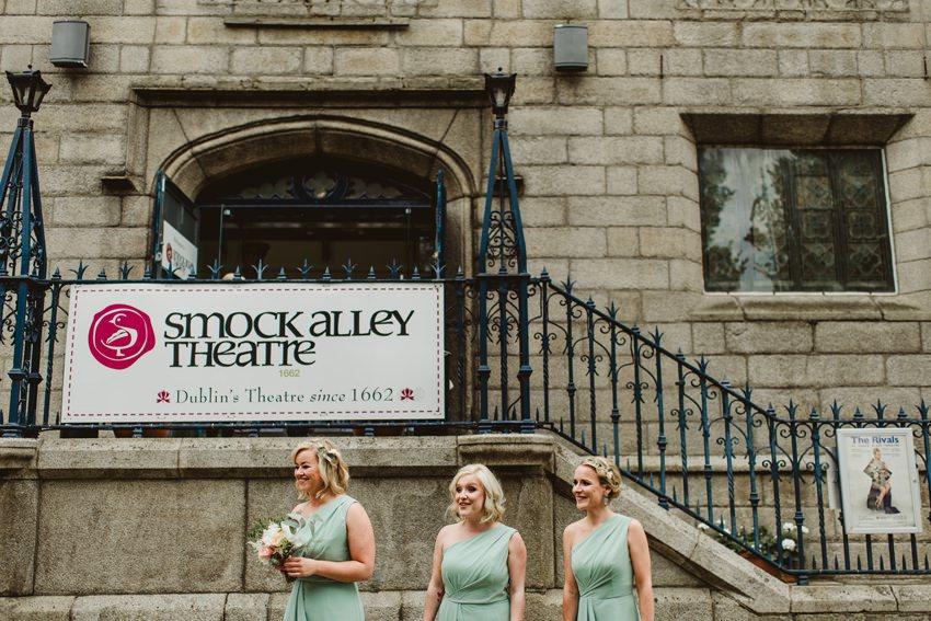 Smocka Alley Thetre wedding in Dublin City 00006