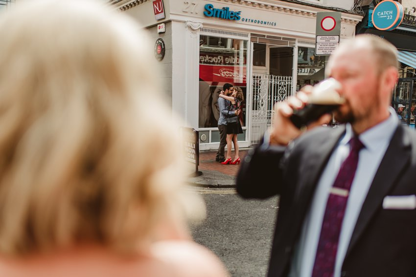 Smocka Alley Thetre wedding in Dublin City 00022