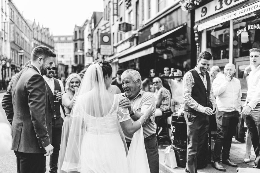 Smocka Alley Thetre wedding in Dublin City 00025