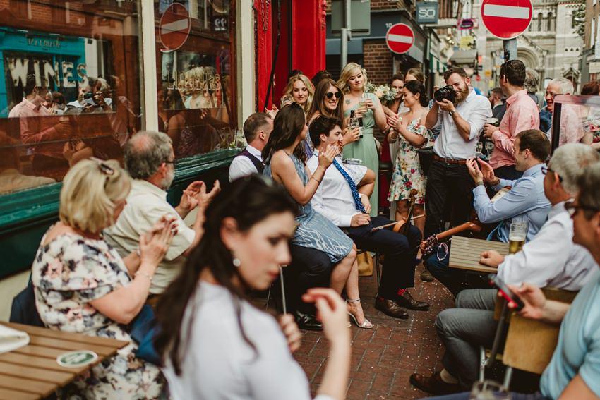 Smocka Alley Thetre wedding in Dublin City 00035